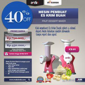 Jual Mesin Es Krim Buah Rumah Tangga di Denpasar