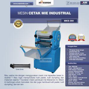 Jual Mesin Cetak Mie Industrial (MKS-350) di Bali
