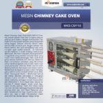 Jual Mesin Chimney Cake Oven MKS-CMY16 di Bali
