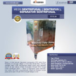 Jual Mesin Sentrifugal (Sentrifus), Separator Sentrifugal di Bali