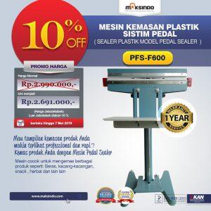 Jual Pedal Sealing Machine (PFS-F600) di Bali