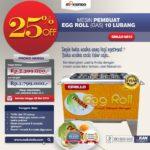 Jual Egg Roll Gas 10 Lubang GRILLO-GS10 di Bali