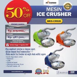 Jual Mesin Ice Crusher MKS-CRS20 di Bali