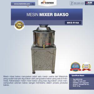 Jual Mesin Mixer BaksoMKS-R16A, MKS-R23A di Bali