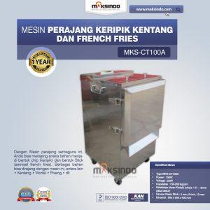 Jual Mesin Perajang Keripik Kentang dan French Fries – MKS-CT100A di Bali
