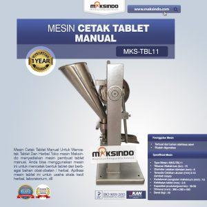 Jual Mesin Cetak Tablet Manual – MKS-TBL11 di Bali
