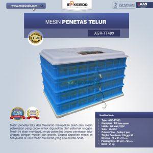 Jual Mesin Penetas Telur AGR-TT480 di Bali