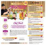 Training Usaha Aneka Minuman Untuk Usaha, Sabtu 06 Juli 2019