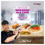 Training Usaha Makanan Ala Cafe, Minggu 21 Juli 2019