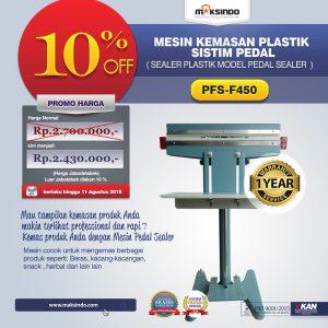 Jual Pedal Sealing Machine (PFS-F450) di Bali