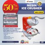 Jual Mesin Ice Crusher MKS-CRS30 di Bali