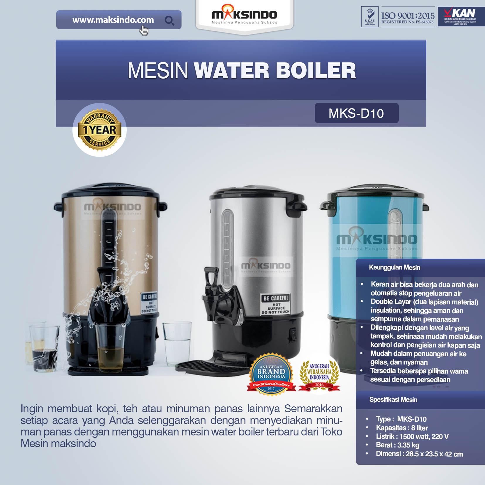 Jual Mesin Water Boiler New Model di Bali