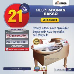 Jual Mesin Adonan Bakso (Fine Cutter) MKS-QW724 di Bali