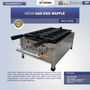 Jual Mesin Gas Egg Waffle MKS-GW66 di Bali