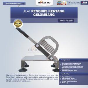 Jual Alat Pengiris Kentang Gelombang MKS-PS269 Di Bali