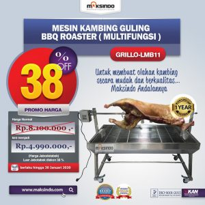 Jual Mesin Kambing Guling BBQ Roaster (GRILLO-LMB11) di Bali