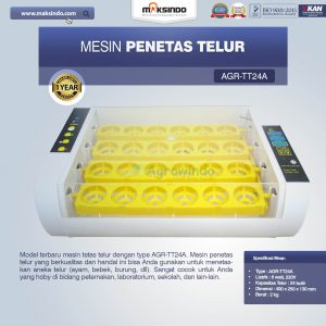 Jual Mesin Penetas Telur AGR-TT24A di Bali