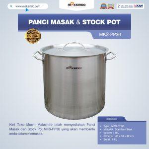 Jual Panci Masak Dan Stock Pot MKS-PP36 di Bali