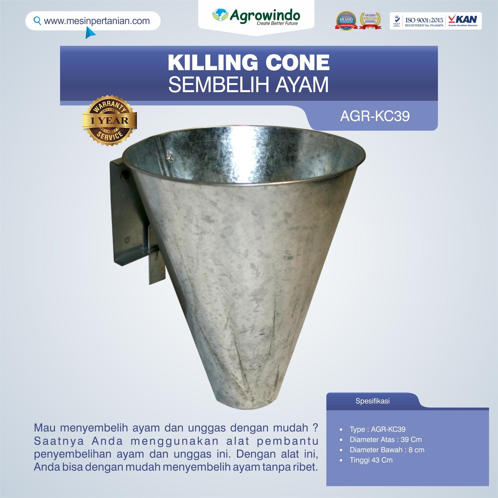 Jual Killing Cone Alat Sembelih Ayam di Bali