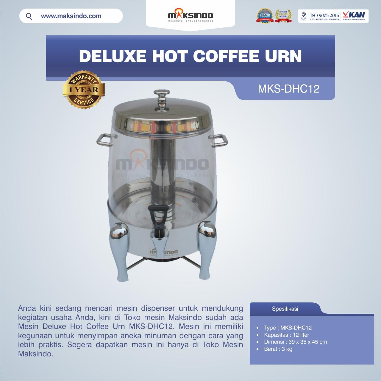 Jual Deluxe Hot Coffee Urn MKS-DHC12 di Bali