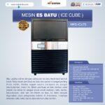 Jual Mesin Es Batu Ice Cube (ICU-75) di Bali