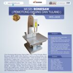 Jual Mesin Bonesaw MKS-J320S (pemotong daging dan tulang) di Bali
