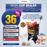 Jual Mesin Cup Sealer Manual CPS-919 di Bali