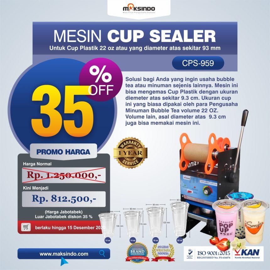 Jual Mesin Cup Sealer CPS-959 di Bali
