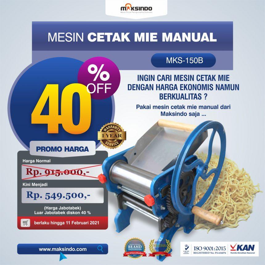 Jual Cetak Mie Manual Untuk Usaha (MKS-150B) di Bali