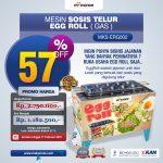 Jual Mesin Pembuat Egg Roll (Gas) MKS-ERG002 di Denpasar