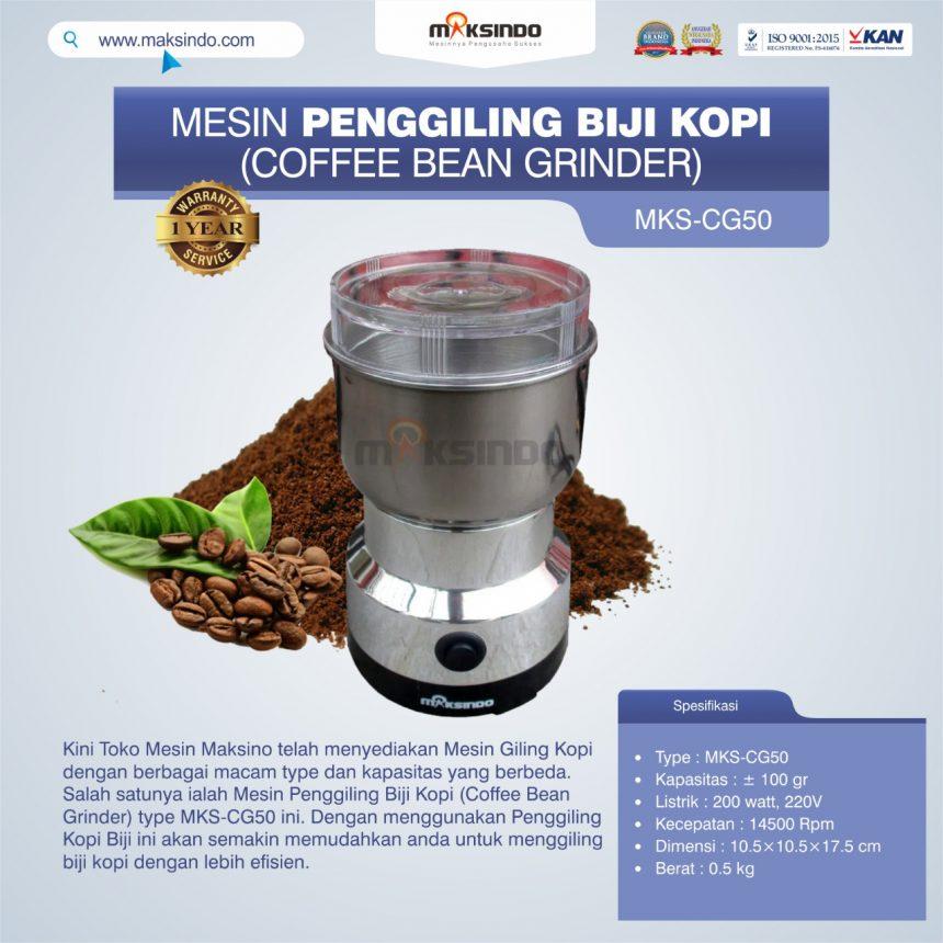 Jual Penggiling Biji Kopi (Coffee Bean Grinder) MKS-CG50 di Bali
