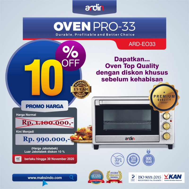 Jual Oven Listrik (Oven Pro-33) di Bali