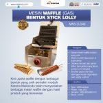 Jual Mesin Waffle Bentuk Stick Lolly (Gas) MKS-LLG40 di Bali