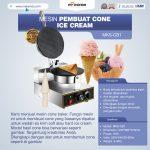 Jual Mesin Pembuat Cone (Cone Baker) Untuk Es Krim di Denpasar