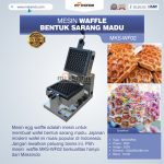 Jual Mesin Waffle Bentuk Sarang Madu MKS-WF02 di Bali