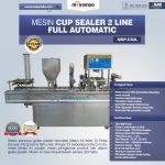 Jual Mesin Cup Sealer Otomatis 2 line dan 4 line di Bali