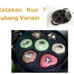 Jual Cetakan Kue 7 Lubang Variasi di Bali