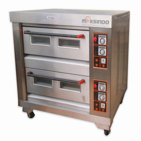 Jual Mesin Oven Roti Gas 4 Loyang (MKS-RS24) di Bali