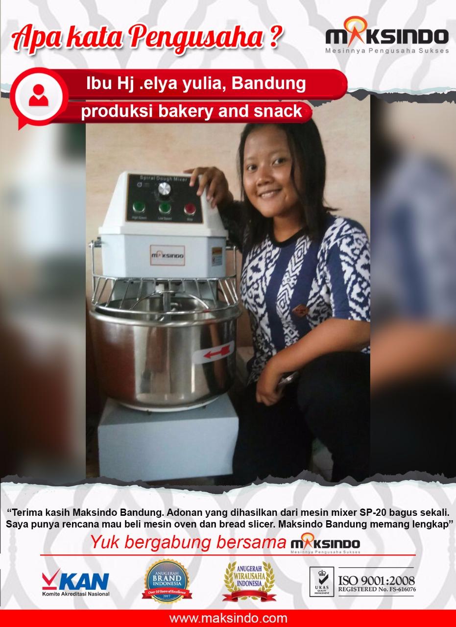 RGS Bakery n Snack : Mesin Mixer Maksindo Sangat Bagus