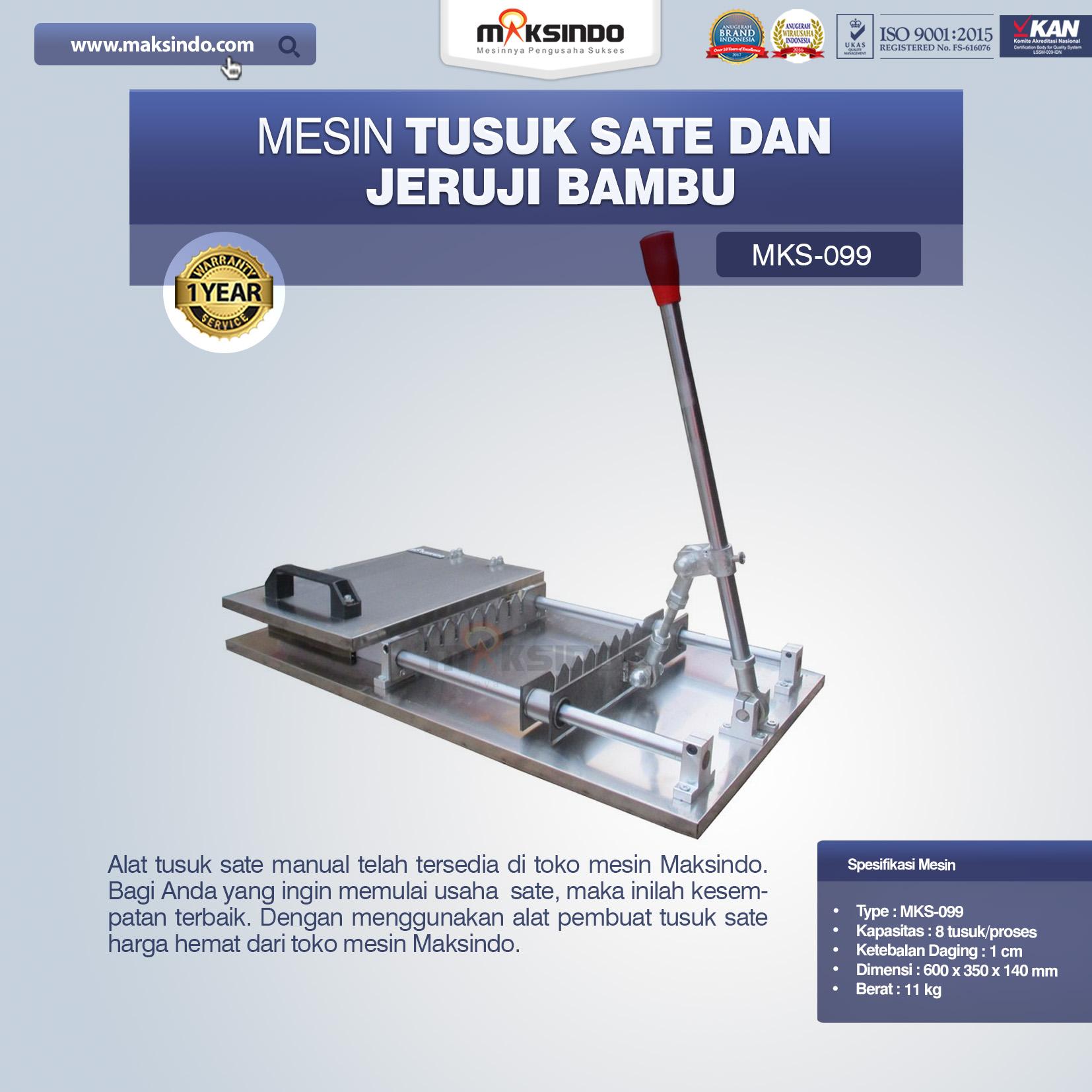 Jual Alat Tusuk Sate ManualMKS-099 di Bali