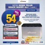 Jual Mesin Egg Roll Sosis Telur Snack Maker 4in1 Listrik di Bali